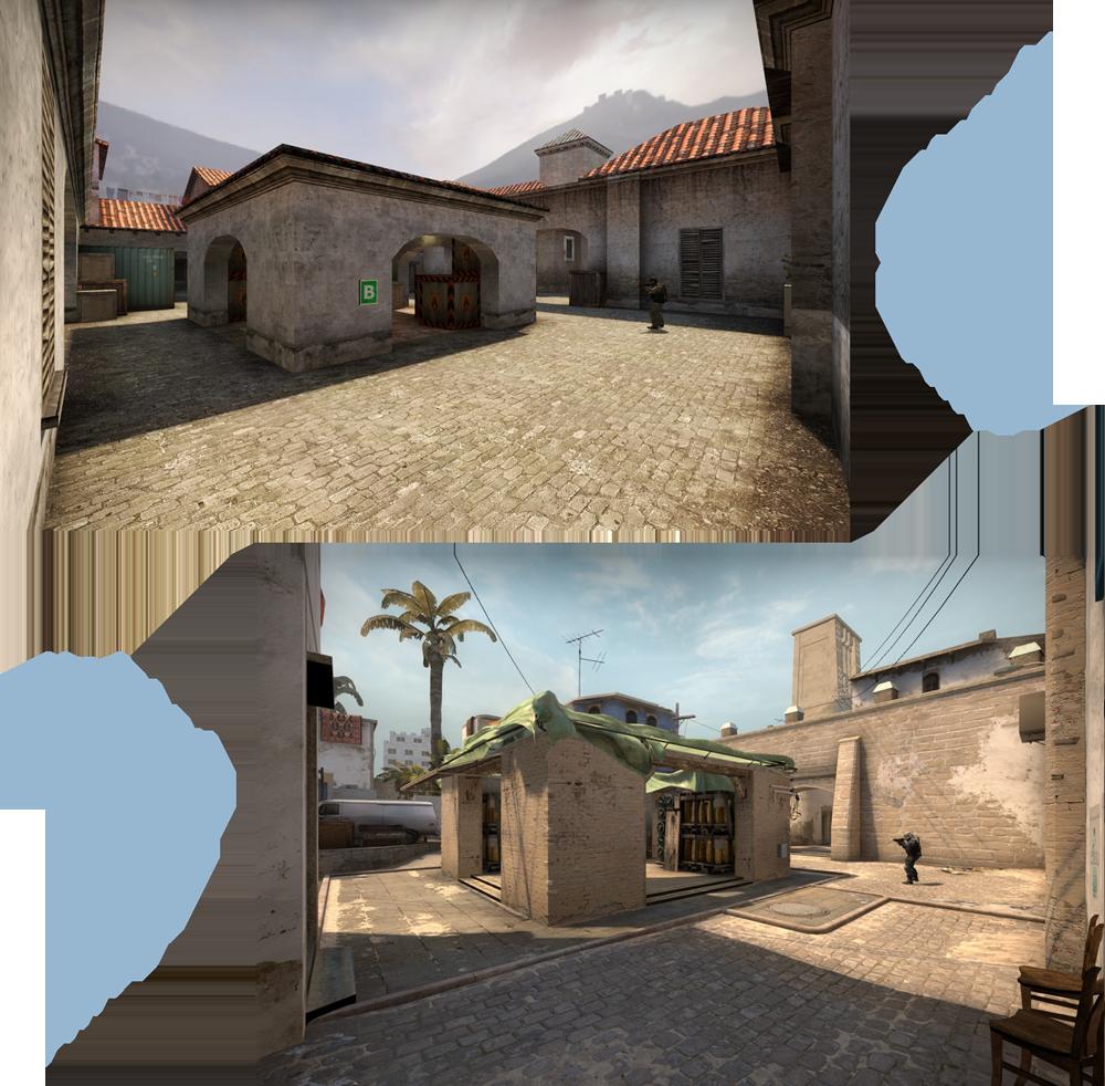 скачать карту De Mirage для Css V34 - фото 5
